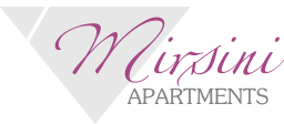 Logo of the rooms and apartments Mirsini at Sifnos
